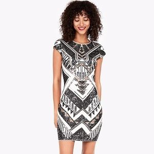 NWT Express sequin dress size Small